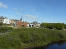 Kristianstad , czyli największe miasto regionu, założone przez duńskiego króla Chrystiana IV